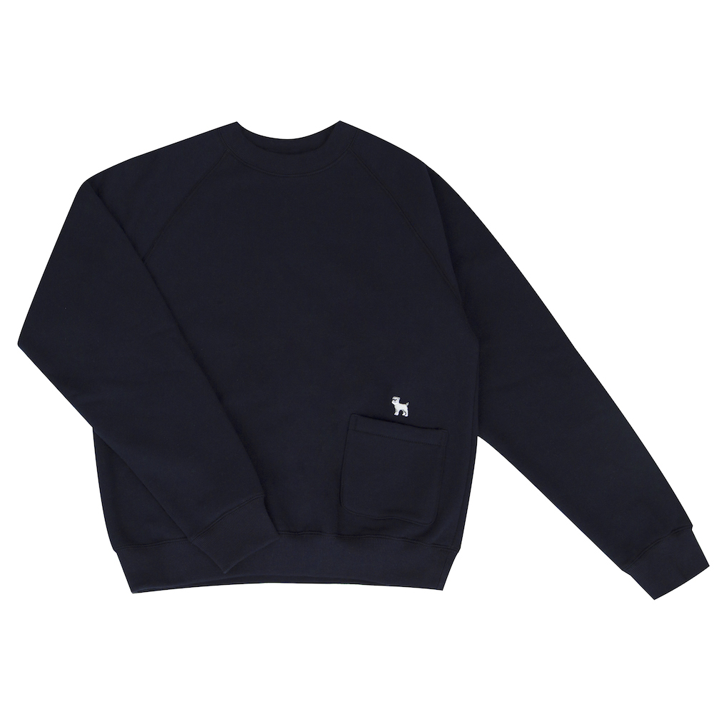 pocket sweatshirt schnauzer  (50% OFF)