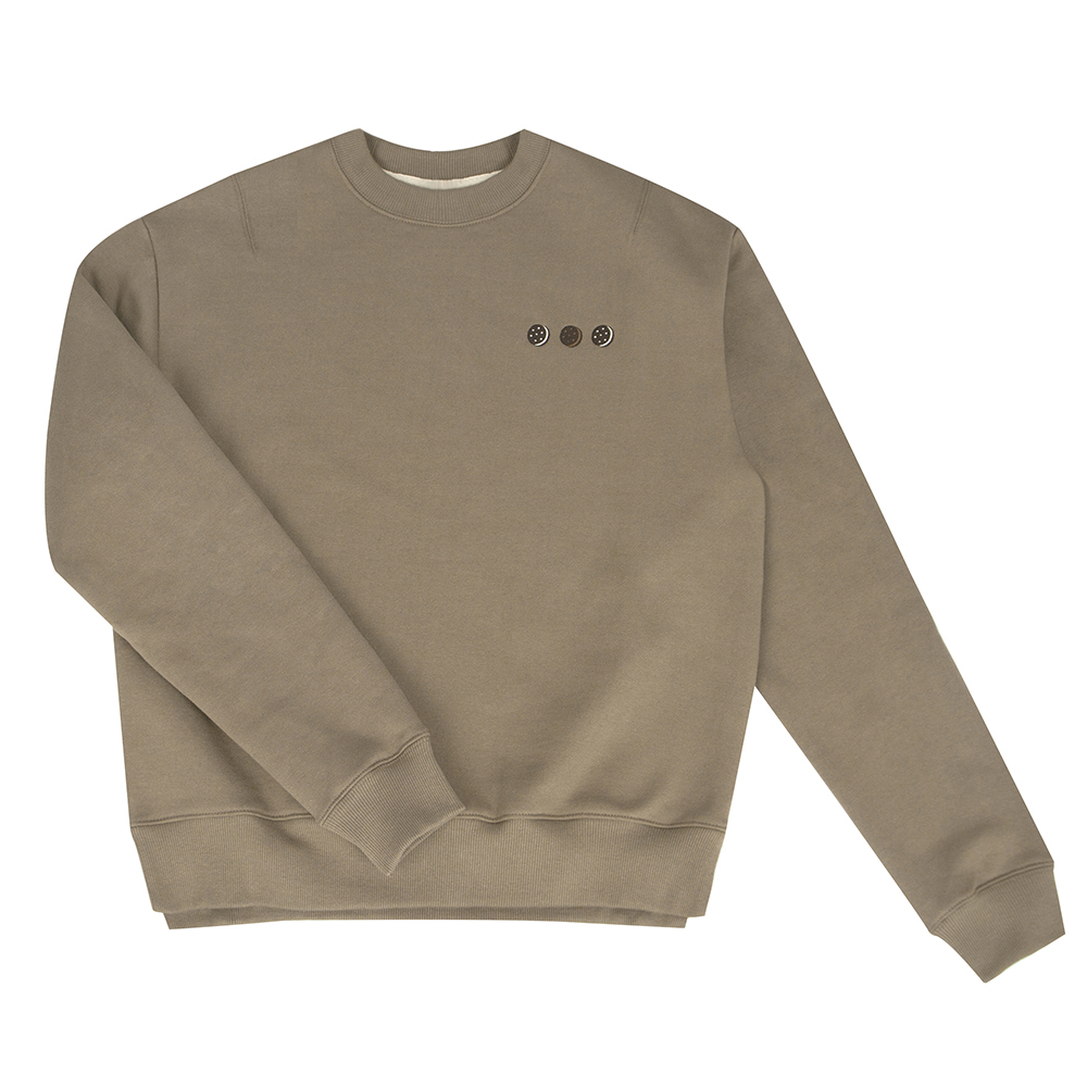 warm sweatshirt cream cookie  (50% OFF)