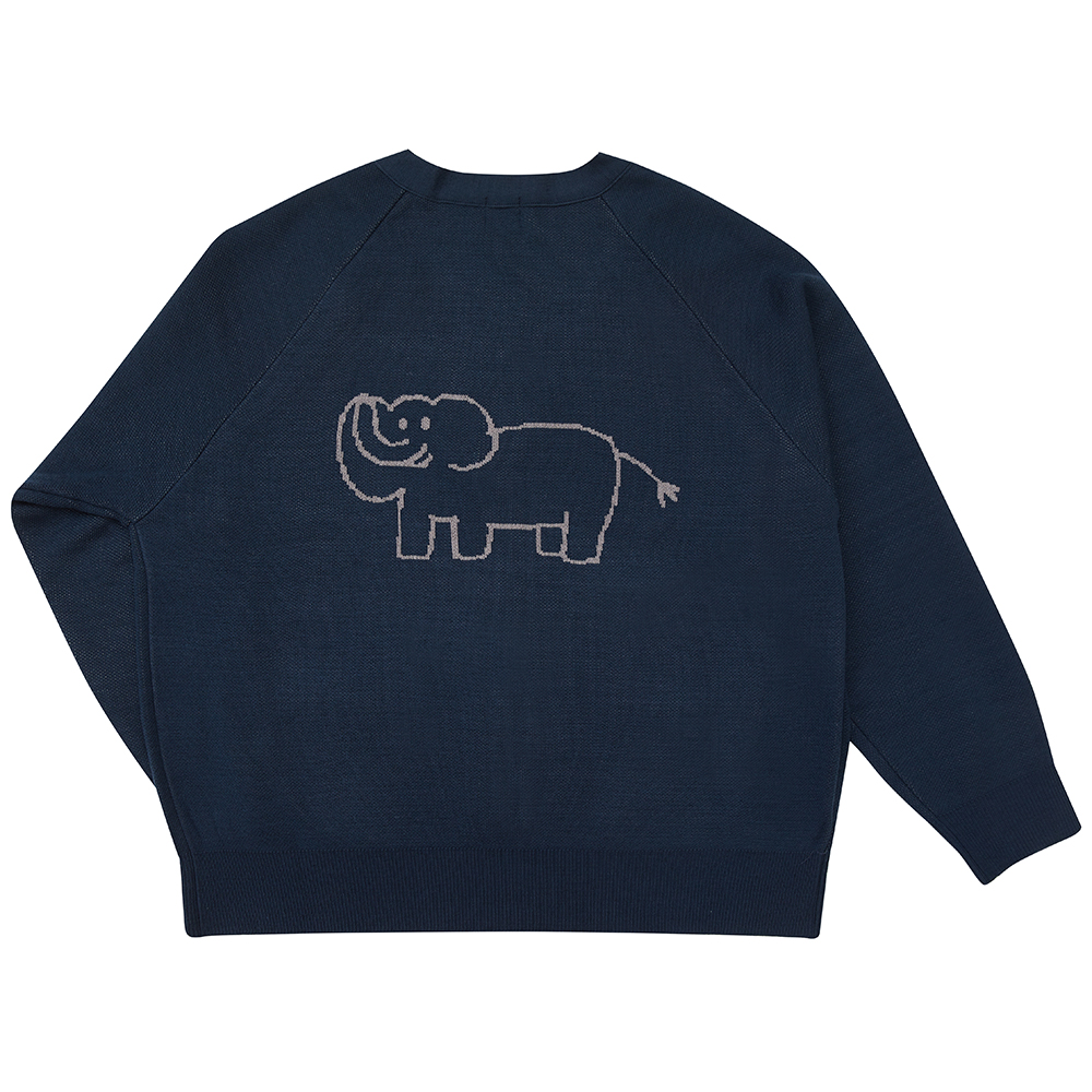 INAP cardigan elephant (EVENT 20% OFF)